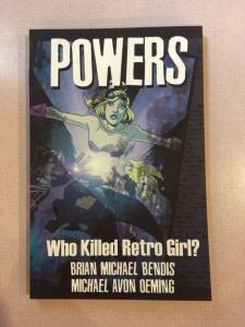 Powers Vol. Who Killed Retro Girl? Brian Michael Bendis Oeming Image