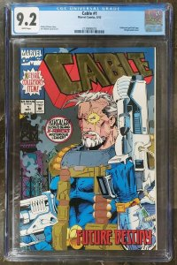 Cable 1 CGC 9.2 Marvel 1993