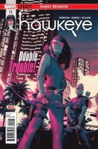 Hawkeye (2017 series) #15, NM- (Stock photo)