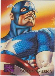 1995 Marvel Masterpieces #18 Captain America