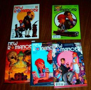 New Romancer   #1,2,4-6 (set of 5) Milligan/Parson