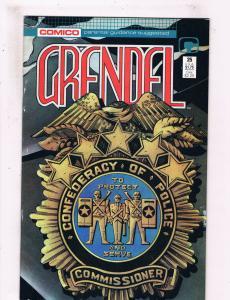 Grendel #25 VF Comico Comic 1988 DE25