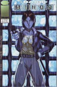 Darkminds (Vol. 2) #2B VF/NM; Image | save on shipping - details inside