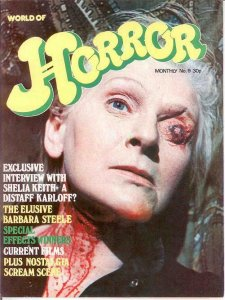 WORLD OF HORROR (1970S DALLRUTH)   9 VF-NM