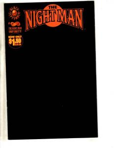Lot Of 9 Night Man Malibu Comic Books Infinity + # 1 2 3 + # 1 2 3 (2) 4  CR29