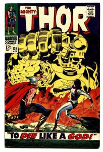 THOR #139 1967-Marvel Silver Age- Jack Kirby FN
