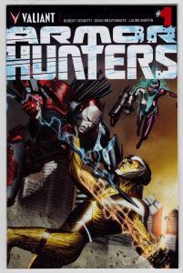 Armor Hunters #1 (Valiant, 2014)   9.6 NM+