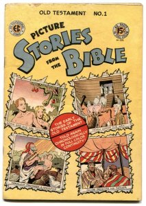 Picture Stories From The Bible #1 1946- Old Testament VG/F