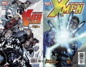 X MEN 421-422  Rules Of Engagement COMICS BOOK