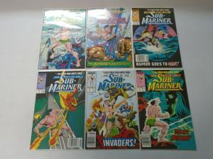 Saga of the Sub-Mariner set #1-12 8.0 VF (1988)