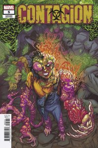 CONTAGION #5 (OF 5) BROWNE VARIANT