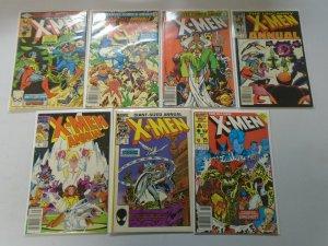 Uncanny X-Men Annuals lot 13 different #4-18 avg 6.0 FN (1980-94 1st Series)
