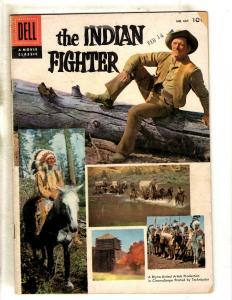 Four Color # 687 VG/FN Dell Comic Book Western Cowboy Indian Fighter JL16