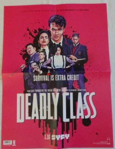 DEADLY CLASS Promo Poster , 18x 24, 2019, IMAGE, Unused more in our store 068
