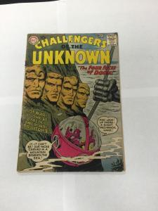 Challengers Of The Unknown 10 2.0 Good Gd Back Cover Piece Missing