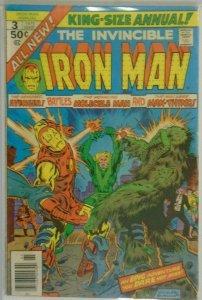 Iron Man ANN #3 NS - 4.0 VG - 1976