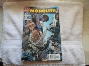 05 DC COMICS THE MONOLITH # 11