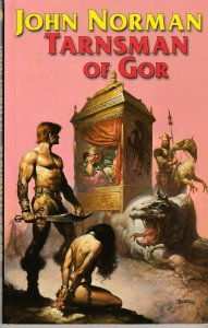 The Tarnsmen of Gor by John Norman(Wildside Press, 2006 edition)