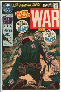 STAR SPANGLED WAR STORIES #153 1970-DC-JOE KUBERT-UNKNOWN SOLDIER--fn