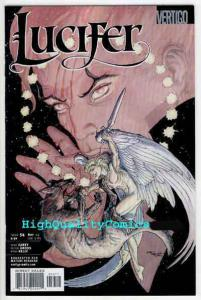 LUCIFER #54, Devil, NM+, Vertigo, Monsters, Michael Kaluta, 2000