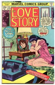 Our Love Story #34 1975- Marvel Bronze Age Romance- VG+