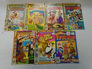 Bronze Age Hanna-Barbera lot 14 different Marvel + Whitman comics 4.0 VG