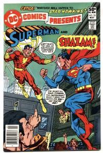 DC Comics Presents #33 comic book SHAZAM / SUPERMAN comic book 1981 NM-