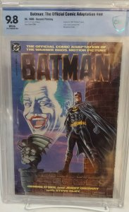 Batman: Official Movie Adaptaion -CBCS 9.8- Second Printing! ULTRA RARE! HOT!