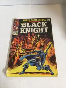 Marvel Super Heroes 17 Vg- Very Good- 3.5 Water Damage Black Knight Silver Age