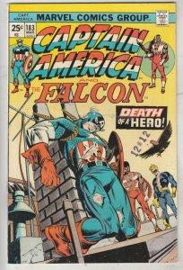 Captain America #183 (Mar-75) NM- High-Grade Captain America