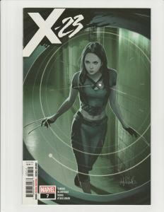 X-23 #7 (Marvel 2019) 1st Appearance of X-Assassin NM 1st Print