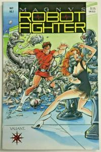 MAGNUS ROBOT FIGHTER#1 VF/NM 1991 VALIANT COMICS