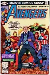 Avengers #201 NM+ 9.6