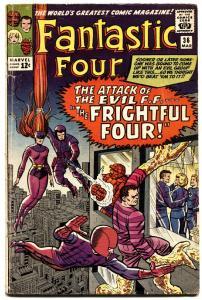 Fantastic Four #36 1965 marvel Frst appeaqrance Medusa Frightful Four  vg.