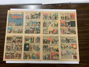 The Spirit Comic Book Section Dallas Moring News June 8 1941
