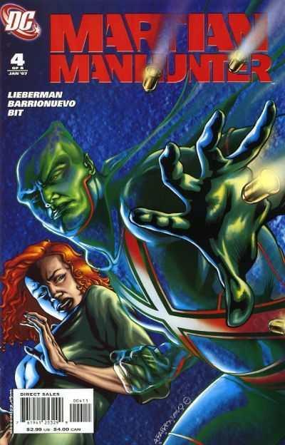 Martian Manhunter (2006 series) #4, NM (Stock photo)