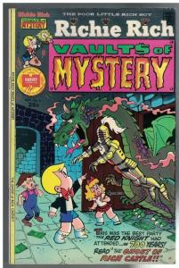 RICHIE RICH VAULT OF MYSTERY 6 VG-F Sept. 1975