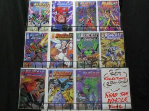WILDCATS ADVENTURES (1994 IM) 1-10,SOURCEBOOK complete!