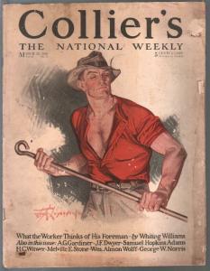 Collier's 3/20/1920-Leyendecker cover art-Bud Fisher-pix-ads-pulp thrills-G-