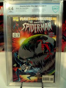 Amazing Spider-Man Super Special - CBCS 9.4 - Marvel 1995 - Direct Edition
