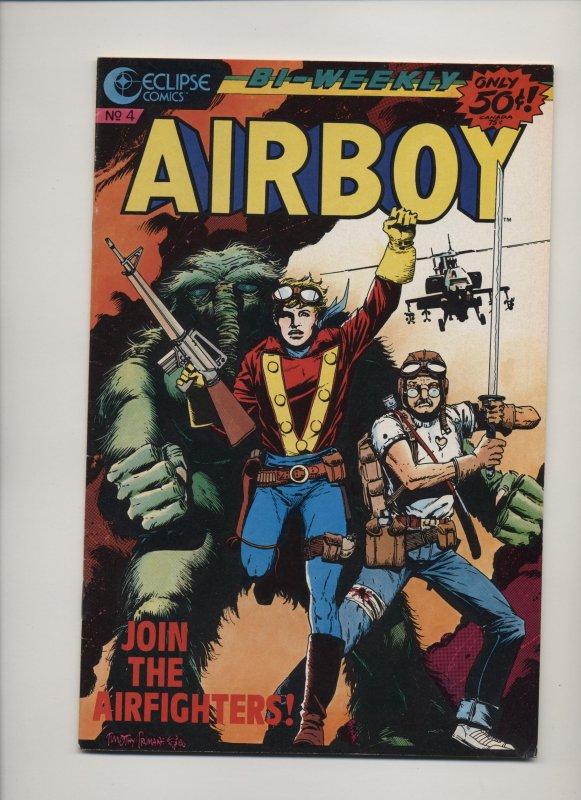 Airboy #4 (1986)