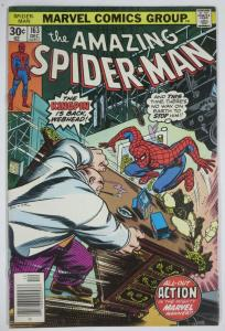 AMAZING SPIDER-MAN  #163 (Marvel,12/1976) (VG-F) Kingpin! Wein & Andru
