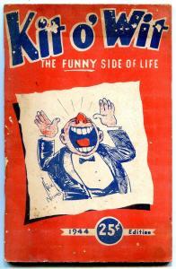 Kit o' Wit 1944 edition- gag joke & cartoon book- Gladys Parker