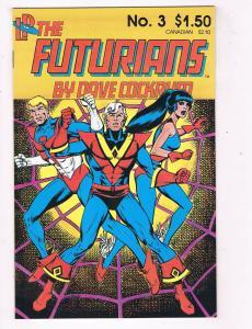 The Futurians #3 VF/NM Loadstone Comics Comic Book 1985 DE41 AD18