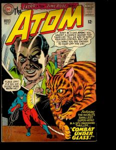 The Atom # 21 FN DC Comic Book Combat Under Glass Justice League Timepool NE3