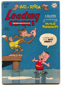 Leading Comics #26 1947- Peter Porkchops- FN