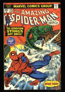 Amazing Spider-Man #145 FN/VF 7.0 Scorpion Stings But Once!