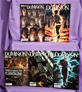 Keith Giffen DOMINION #1 - 5 Tim Hamilton (Boom! Studios, 2007)!