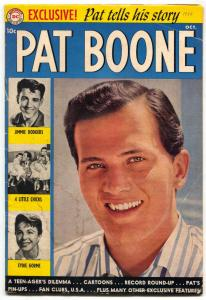 Pat Boone #1 1959- DC Comics- photo cover G/VG