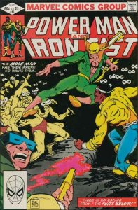 Marvel POWER MAN AND IRON FIST (1978 Series) #85 FN+
